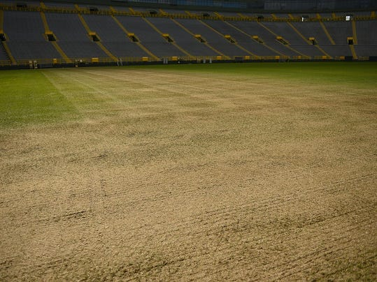 GPG Grass condition at Lambeau Field