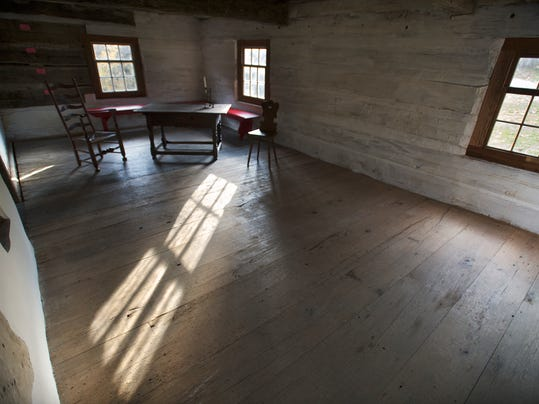 The second floor of the log home during the Grand opening of the Historic Hellam Preserve in Hellam Township Sunday November 10, 2013.  Paul Kuehnel - Daily Record/Sunday News