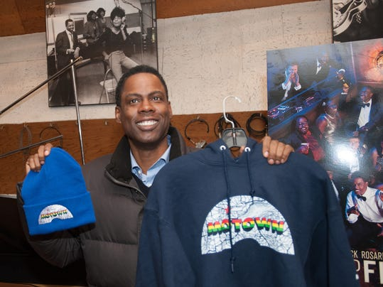 Chris Rock at Motown Museum