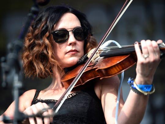 Amanda Shires performs at Pilgrimage Music & Cultural