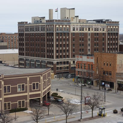 The Hotel Northland in downtown Green Bay.