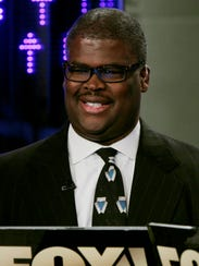 Charles Payne, of the Fox Business network, appears