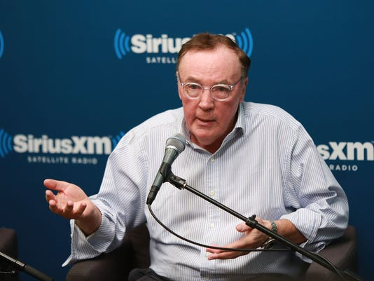 """Author James Patterson And NBA Legend Grant Hill Visit The SiriusXM Studios For """"SiriusXM""""s Town Hall With James Patterson And Special Guest Grant Hill"""""""