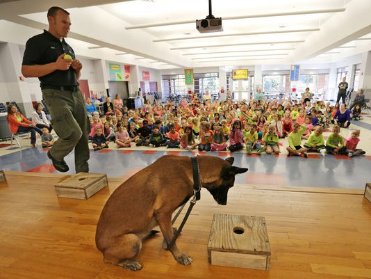 critter corner-drug dog 1 Nov. 27