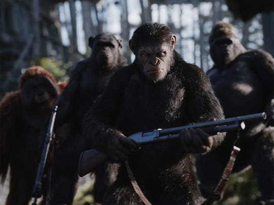 Caesar (played through motion capture by Andy Serkis) is on a quest for revenge in 'War for the Planet of the Apes.'