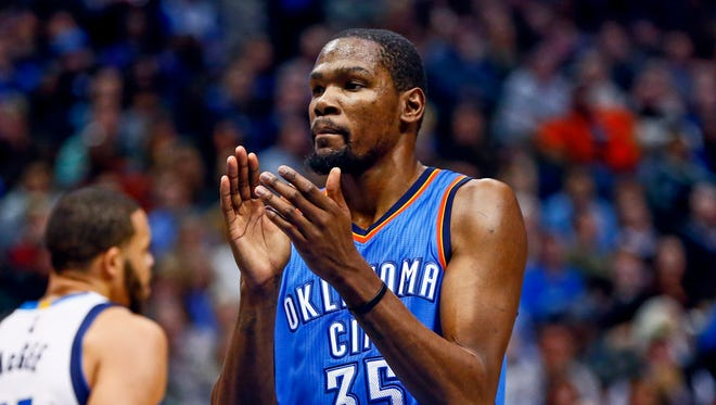 Kevin Durant is still to meet with the Heat and Thunder again.