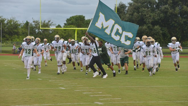 Melbourne Central Catholic hosted Champagnat Catholic from Hialeah on Friday night.