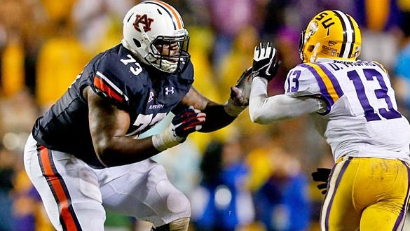 Seven quick observations of Greg Robinson from NFL Draft.