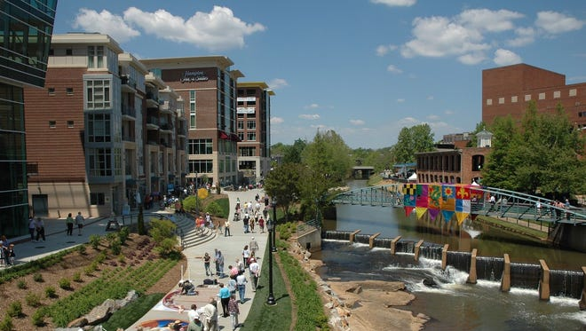 Greenville, S.C. is one of the fastest-growing cities in the U.S., according to the Census Bureau.