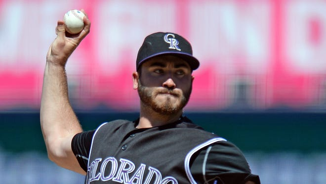 Colorado Rockies starting pitcher Chad Bettis hasn't been on a big league mound since Sept. 30.