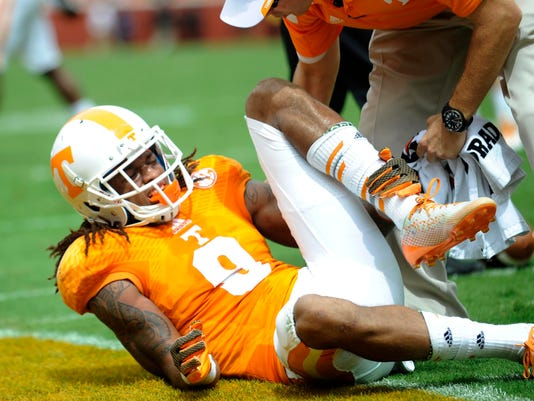 Tennessee Injuries Football