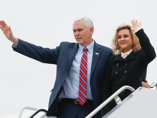 Mike Pence, Charlotte Pence