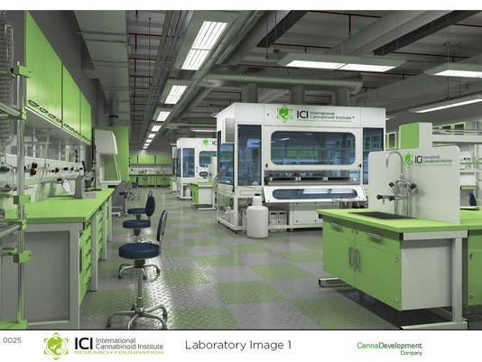 Pot lab rendering