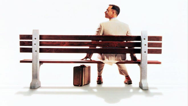 """Forrest Gump"" is just one of eight movies playing at The Lyric Theatre this summer. The movies are free but tickets are only available at the theater box office."