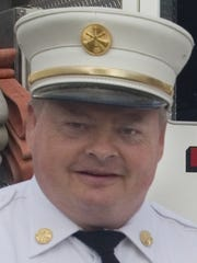 Retired Elmira Fire Chief Patrick Bermingham.