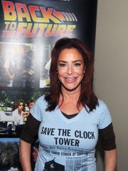 Claudia Wells attends the 2015 Monster Mania Con.
