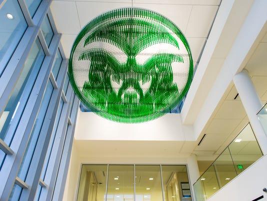 Ram's Head Installation at Colorado State University