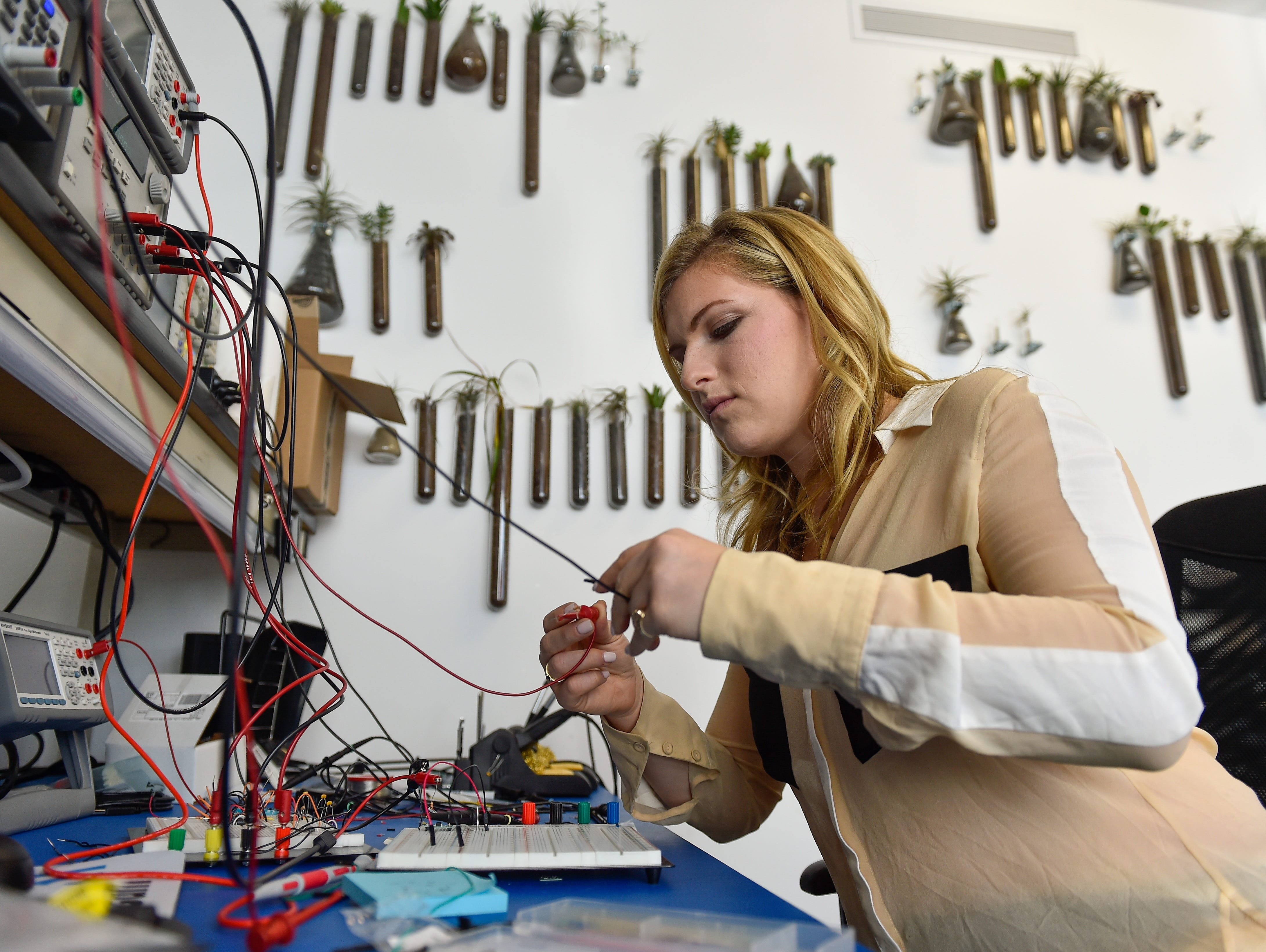 Meredith Perry, 25, is the founder of uBeam, a venture-backed startup, that aims to make something rather fantastical a reality: charging your phone and other electronic devices over thin air.