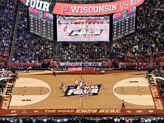 NCAA Basketball: Final Four-Wisconsin vs Kentucky
