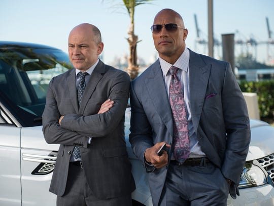 Rob Corddry and Dwayne Johnson star in HBO's 'Ballers.'