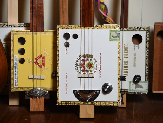 The second annual Florida Cigar Box Guitar Festival is Saturday at Summer Crush Vineyard & Winery north of Fort Pierce.