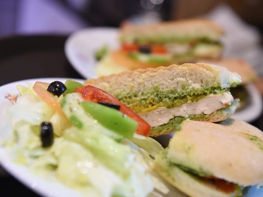 Grilled chicken sandwich offered at the Figueroa Coffee Company's new cafe in Tamuning.