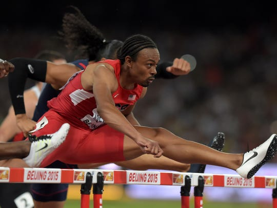 Aries Merritt (USA) wins 110m hurdles semifinal in