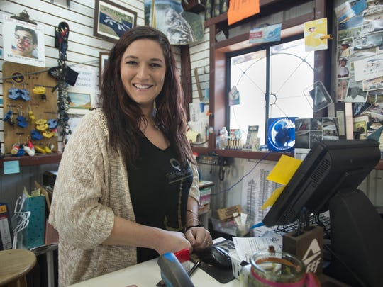 Emily Connor operates a general store to serve the residents and visitors to Inlet Bay Marina on Horsetooth Reservoir.