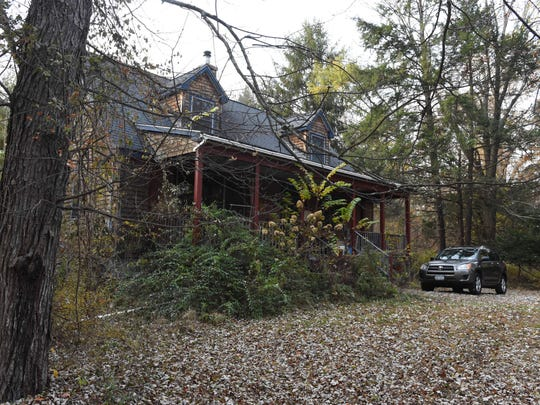A view of the Knoeppel family home, which was recently foreclosed.