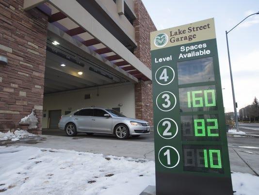 CSU Parking Garage