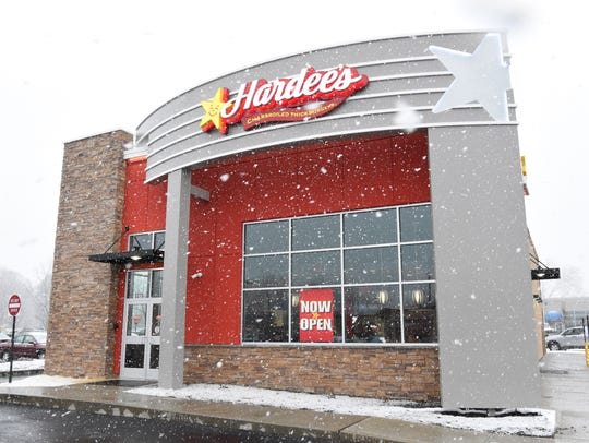 A Hardee's restaurant opened on South Road in the Town