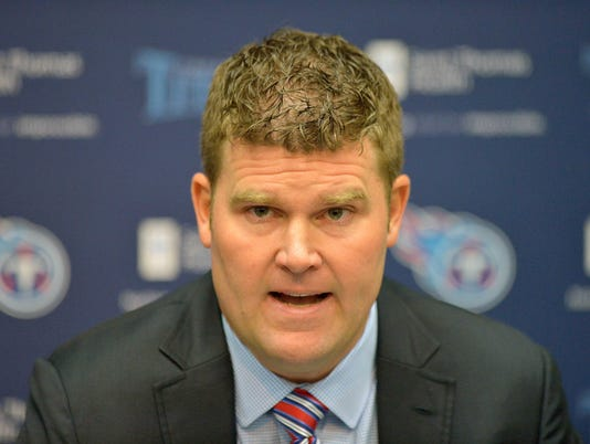 USP NFL: TENNESSEE TITANS-PRESS CONFERENCE S FBN USA TE