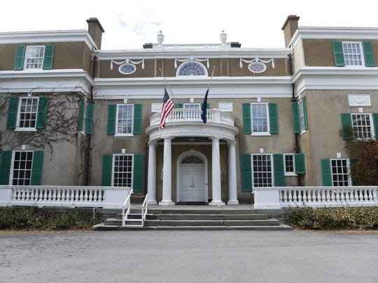 A view of the Home of Franklin D. Roosevelt National Historic Site.