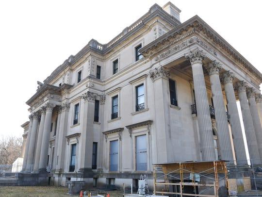 The Vanderbilt Mansion National Historic Site in Hyde