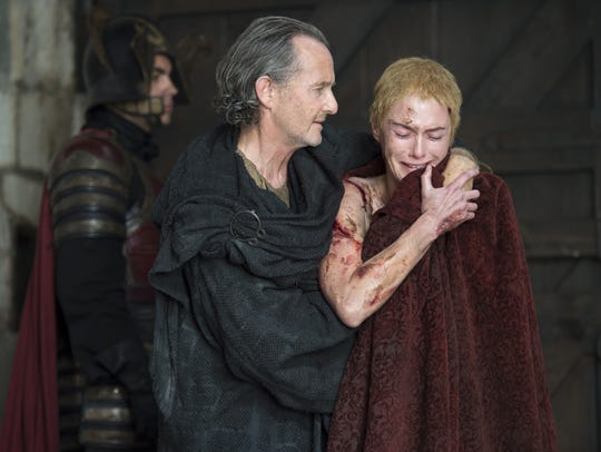Qyburn and Cersei Lannister.