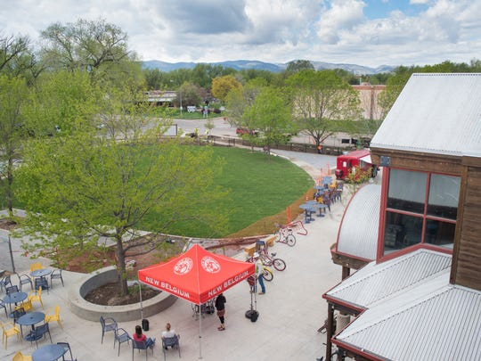 New Belgium Brewing Co. will debut its new grass-covered
