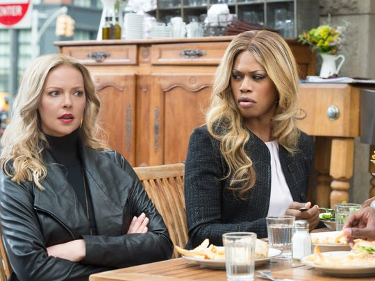 Katherine Heigl and Laverne Cox star in CBS drama 'Doubt.'
