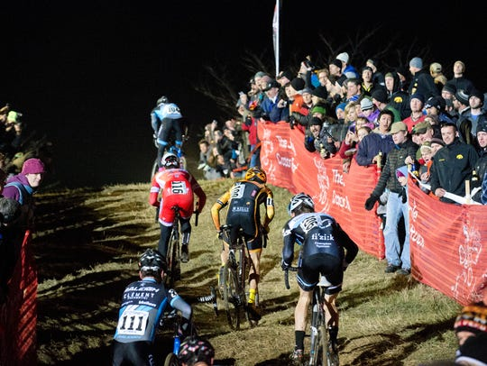 The Jingle Cross Cyclo-Cross race has taken place in