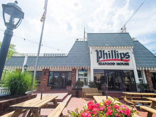 Phillips Seafood House in North Ocean City.