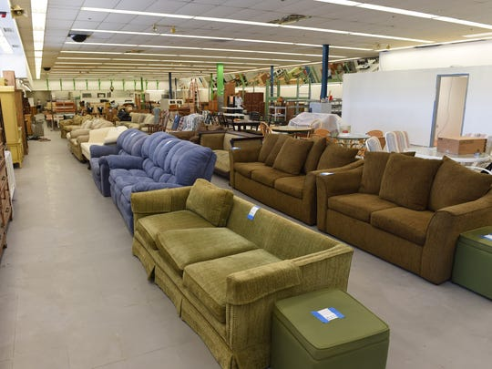 Items for sale at the Habitat for Humanity ReStore