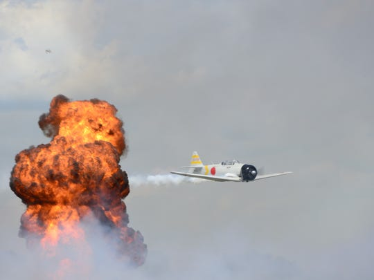 Pilots will recreate the attack on Pearl Harbor in air show.