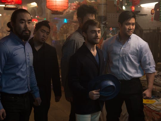 """Daniel Radcliffe is having a busy summer. He also stars in in """"Now You See Me 2."""""""