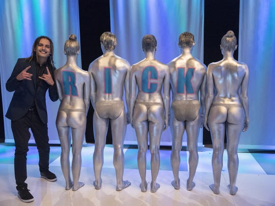 """Rick Uribe, now 21, was the youngest of the 12 artists selected from hundreds of people from around the world. He is the season three winner of """"Skin Wars."""""""