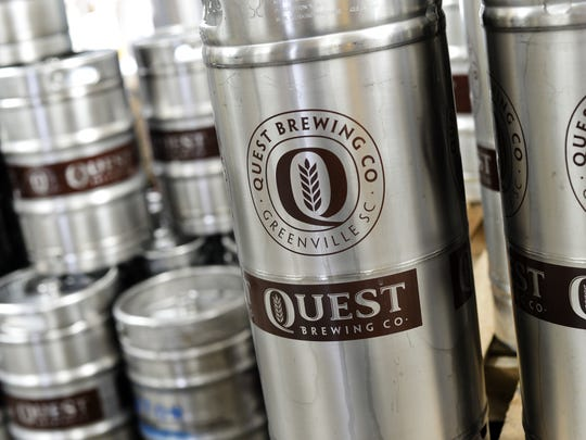 Quest Brewing of Greenville celebrates its third anniversary on Saturday with a party that includes many new beer releases.