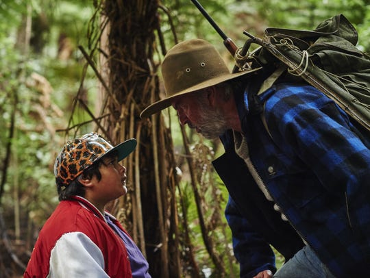 "Julian Dennison (left) and Sam Neill star in ""Hunt"