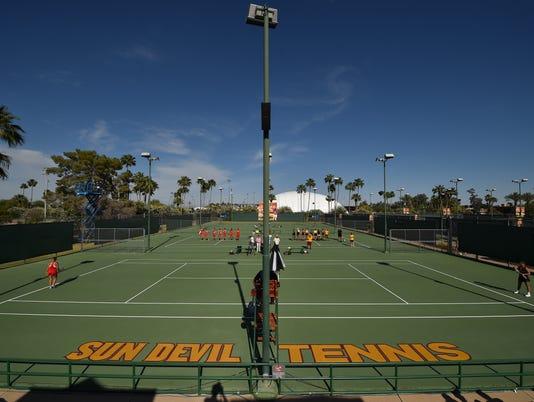 ASU Whiteman Tennis Center
