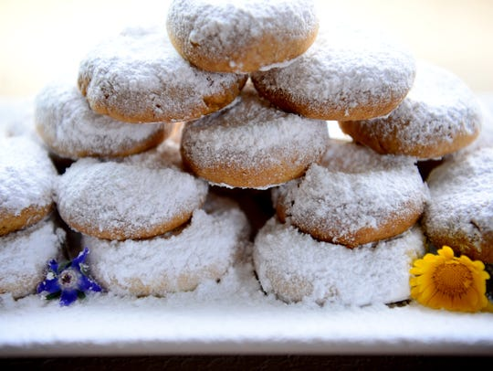 Kourabiedes are also known as Greek wedding cookies