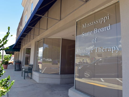 The Mississippi State Board of Massage Therapy is located
