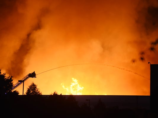 Gap distribution center fire