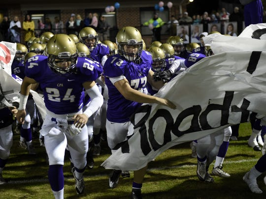 After dominating in 3A, CPA will move to Division II this season. The Lions will play host to Smyrna on Sept. 1.
